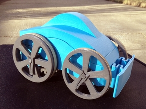 Flywheel Toy Car
