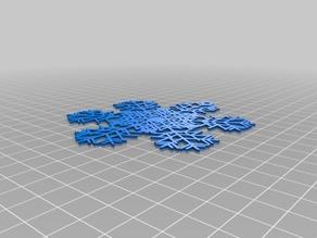 My Customized The Snowflake Machine1