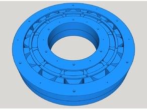 Roller Bearing using Reuleaux Bearings