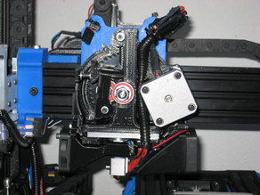 1.75MM filliament Wade's Reloaded Extended height Hexagon Mount Extruder