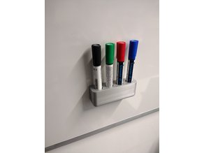 Magnetic holder for pens on the whiteboard - magnetischer Halter für Stifte am Whiteboard