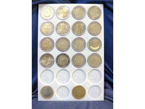 Euro Collection (2€x16, 1€x2, 0.5€x2 )