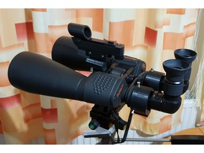 Astronomy Right Angle Adapter for Binoculars