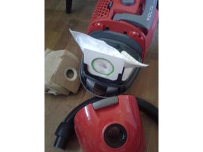 "Dust bag adapter for ""general"" vacuum cleaner bags"