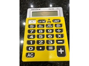 Reizen Large Print Calculator Key Guard