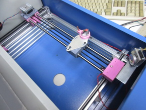 CO2 LASER ENGRAVING MACHINE REMODEL PARTS