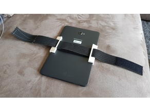Kneeboard Tablet clamp
