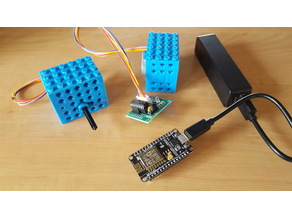 LEGO Controller for stepper 28BYJ