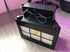 HEPA Filter 80mm Fan