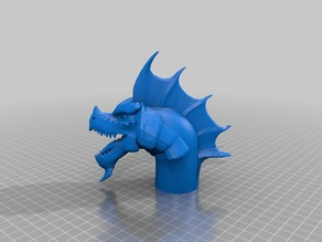 Instant Pot Dragon, Smoothed, with GAP