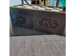 Star Wars Travel Chess Box