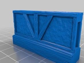 OpenLock 5.0 Half Wall, Tudor, Wood Styles