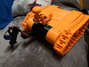 Arduino Robot Tank mod with suspension and camera
