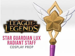 Star Guardian Lux Staff