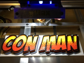Con Man logo (The Alan Tudyk / Nathan Fillion show)