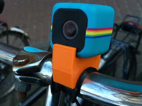 Polaroid Cube cycle mount for 24mm handlebars