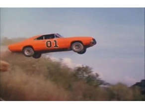 The Dukes of Hazzard lithophane