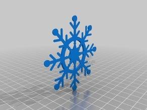 Ships Helm Snowflake