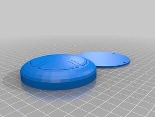 Four-button round case (similar to Simon)