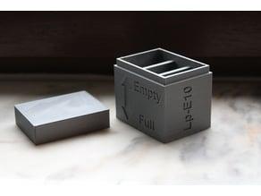 LP-E10 Battery case