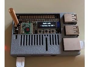 Adafruit Radio Bonnet with OLED Raspberry Pi Housing
