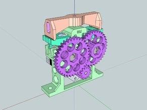HST double bolt bowden extruder V4