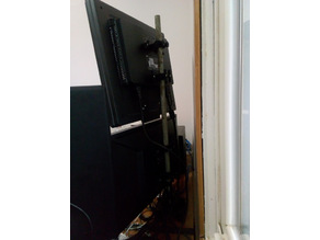 "VESA Single or Dual Monitor Stand Using 1/2"" Metal Conduit"