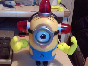 "Beefy Arms for 5"" Minion toy"