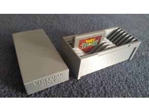 Virtual Boy Game Storage Box