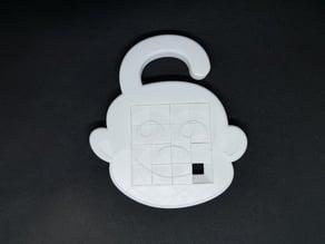 4x4 Monkey sliding puzzle