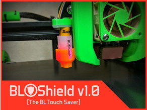 BLShield   The BLTouch saver. Prevents bent probe pins for BL Touch, 3D Touch, and others.