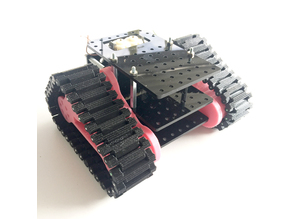 MR6 - Mini Prototyping Tank Robot