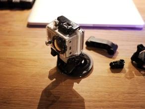 GoPro Suction Mount Short