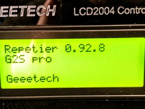 Delta G2S Configuration for Repetier Firmware