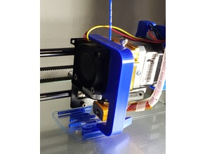 Geeetech Prusa I3 Aluminium Pro - Extruder Cooling Duct