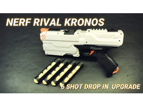 Nerf Rival Kronos 6 Shot Magazine Follower