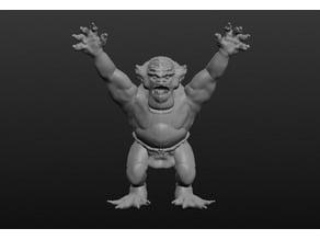 Sculptris Troll Dummy