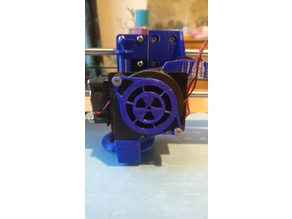 Hotend Fan Cover Nuke - Anet A8