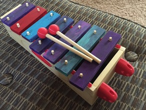 Zoelephone (Xylophone made for my daughter Zoe)