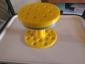 rotary cake stand