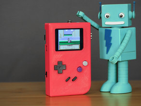 DIY Raspberry Pi Gameboy