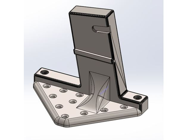 Ar 15 Vertical Wall Storage Mount Large Mount By