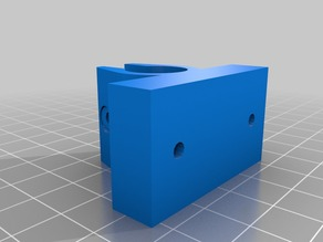 Strong LM8UU Holder for Folger Tech 2020 Prusa i3 Y-axis