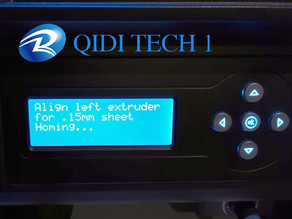 Extended bed levelling code for QIDI Tech 1