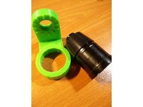 E27 holder for 3D printed articulating LED lamp