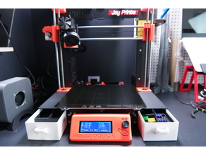 Prusa Mk3 Drawer, Tool box, Easy print