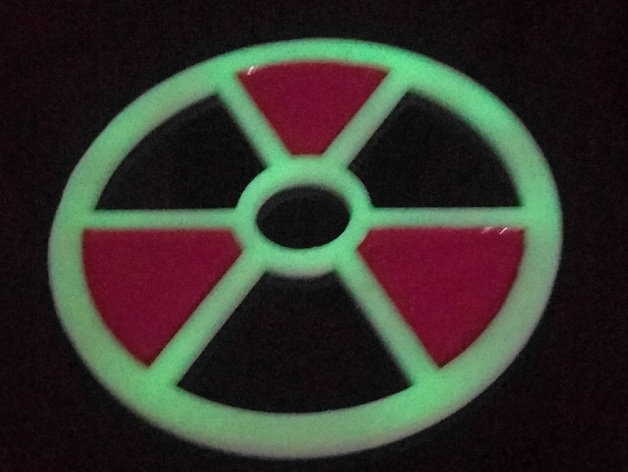 Radioactive symbol coaster by mentaldemise - Radioactive coasters ...