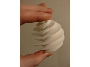 Spiral Sphere Ornament