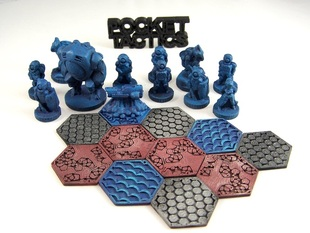 Pocket-Tactics: Dominion Strike Force (Second Edition)