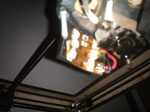 Light attachment for Ultimaker
